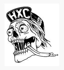 Hardcore skull Lámina fotográfica
