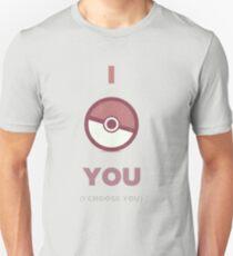 Pokemon - I Choose You Unisex T-Shirt