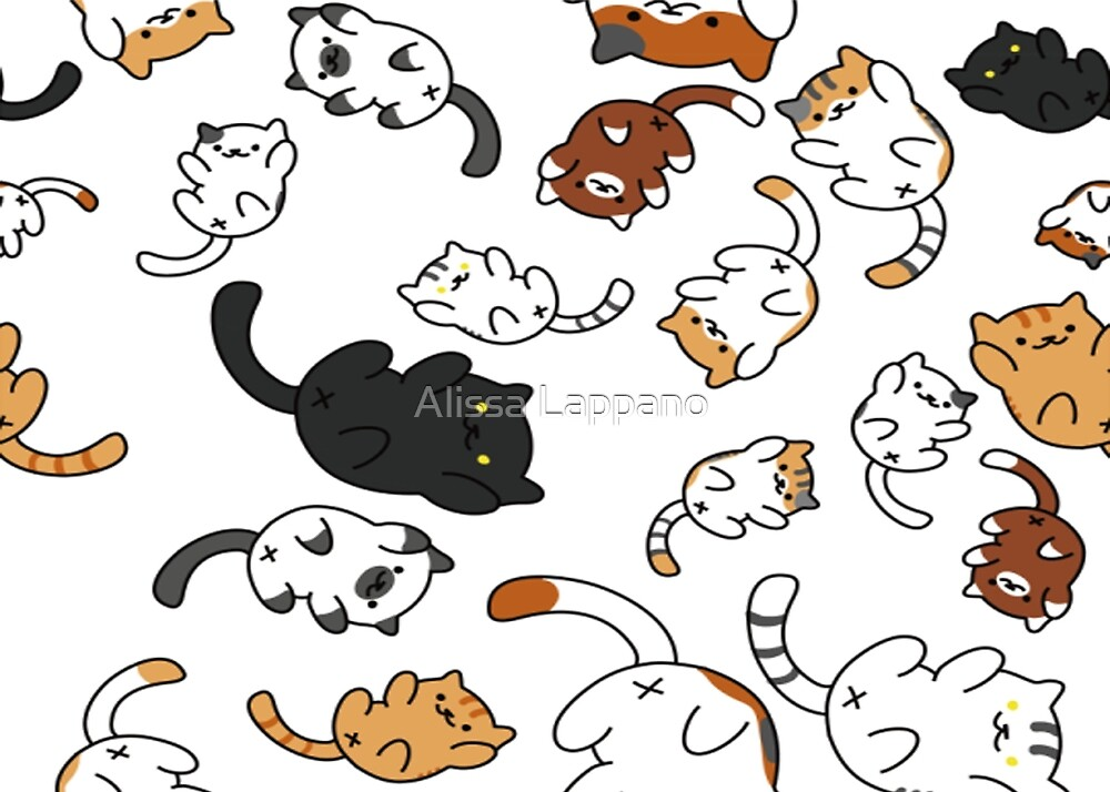 Neko Atsume Cats by only5sosbitch