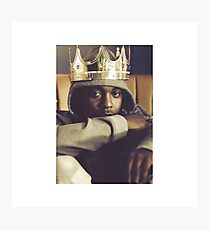 King Kendrick Photographic Print