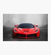 Ferrari Laferrari Photographic Print