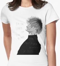 One Eyed King Womens Fitted T-Shirt