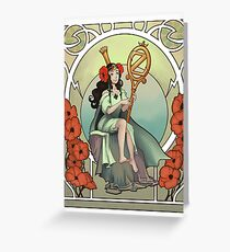 Princess Ozma Tippetarius of Oz Greeting Card
