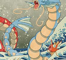 The Great Wave II by Missy Pena