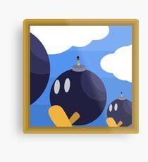 Bob-Bomb Battlefield, A Super Mario 64 Painting Metal Print