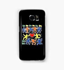 Keith Haring Love Dance Samsung Galaxy Case/Skin