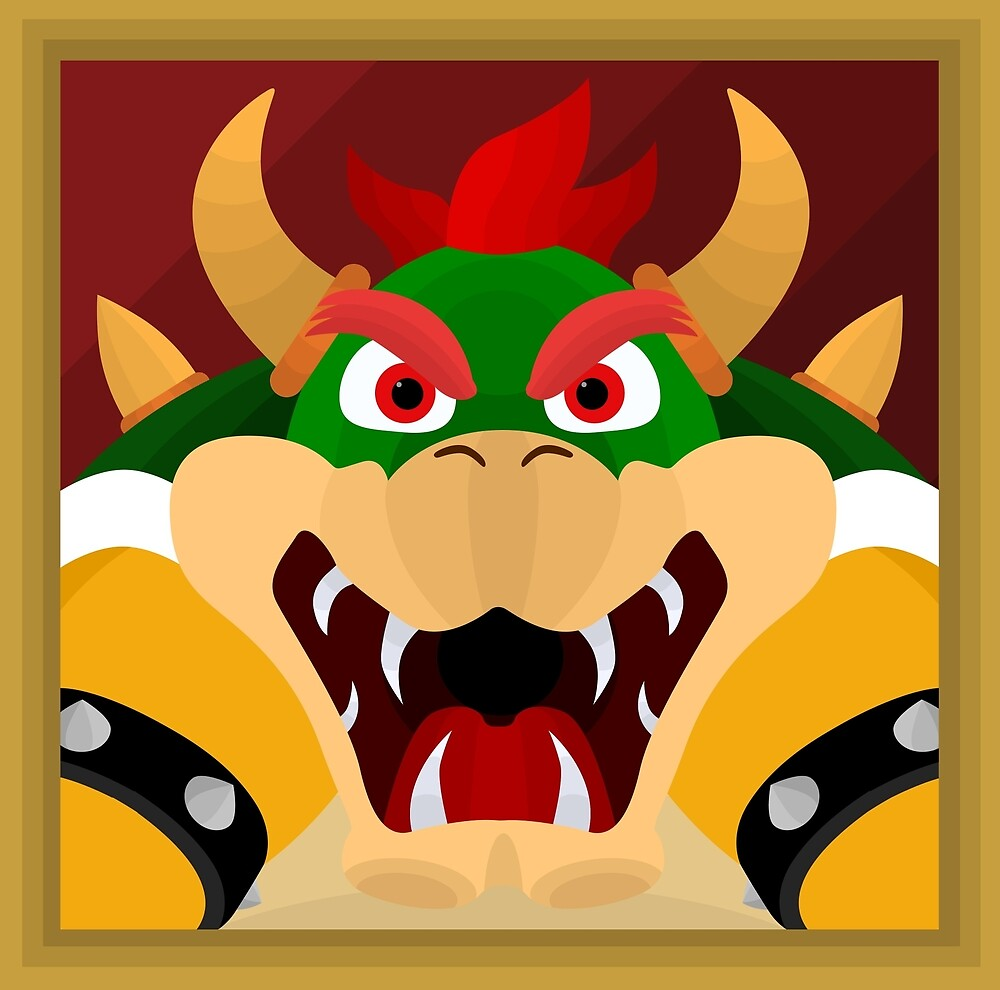 Mario Wall Stickers Super Mario Bros 8 Characters Set