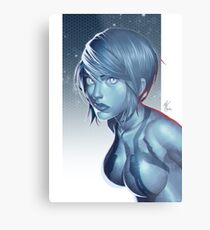 Cortana Metal Print