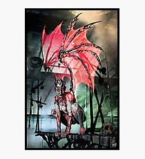 Robot Angel Painting 017 Photographic Print