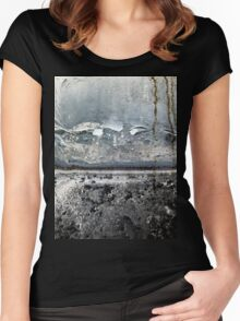 Foggy morning Women's Fitted Scoop T-Shirt