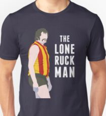 The Lone Ruckman - red/gold Unisex T-Shirt