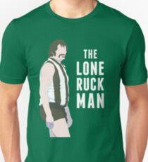 The Lone Ruckman - black/white Unisex T-Shirt