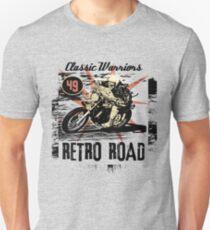 retro road Unisex T-Shirt