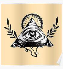 Masonic Icons Poster