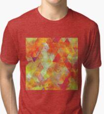 golden triangles Tri-blend T-Shirt