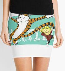 Calvin and Hobbes Dancing Mini Skirt