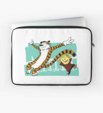 Calvin and Hobbes Dancing Laptop Sleeve