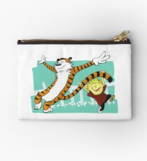 Calvin and Hobbes Dancing Studio Pouch