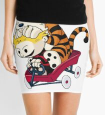 Calvin and Hobbes  Mini Skirt