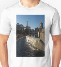 Sunny and Still - Las Vegas Morning at Caesars Palace Unisex T-Shirt