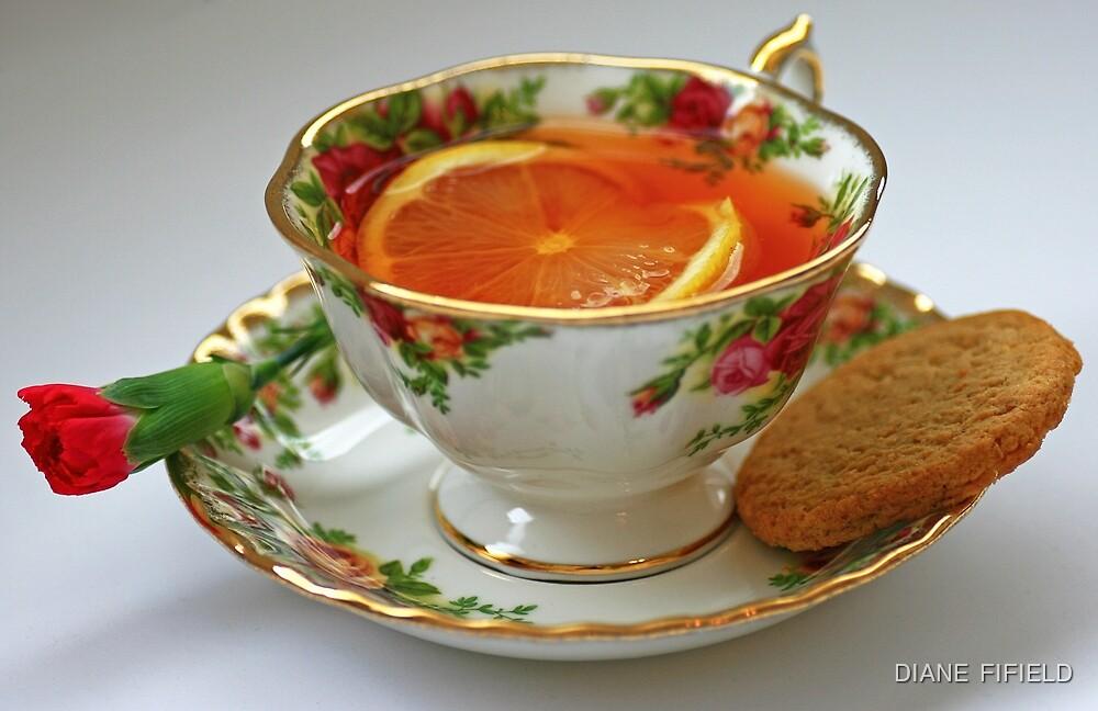 Lemon Tea by DIANE  FIFIELD