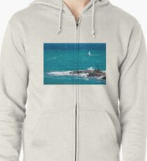 Sailing weather Zipped Hoodie
