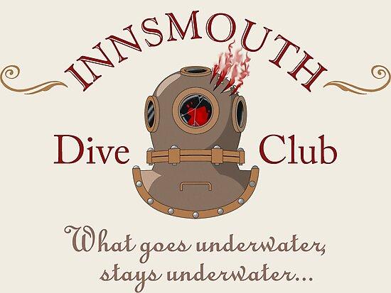 Innsmouth Dive Club Logo by Khamsin