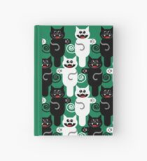 MARCHING CATS Hardcover Journal