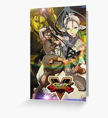 Ibuki Street Fighter Case Greeting Card