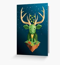 The Green Soul Greeting Card