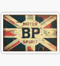 British Petrol Sticker