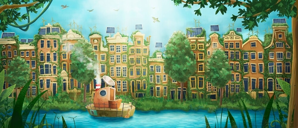 Amsterdam by poodlesoup