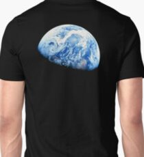 EARTH, PLANET, SPACE, Blue planet, Earthrise, Apollo 8, 1968 T-Shirt