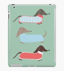 Sausage Dogs in Jumpers iPad Case/Skin
