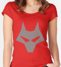 Timber Wolf Lazy Cosplay Women's Fitted Scoop T-Shirt
