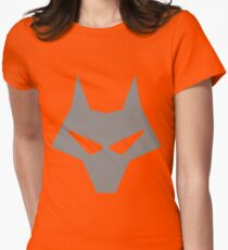 Timber Wolf Lazy Cosplay Women's Fitted T-Shirt