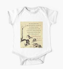 He Who Exercises Government - Confucius One Piece - Short Sleeve