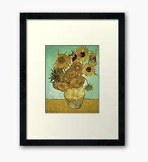 Vincent Van Gogh - Sunflowers  Framed Print