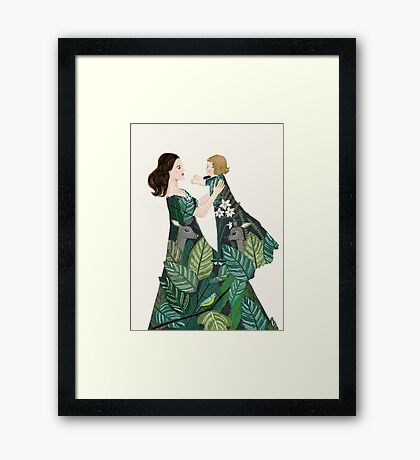 Nature of motherhood Framed Print