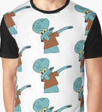Squidward Dab Graphic T-Shirt