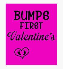 Bump's First Valentine 2 Photographic Print