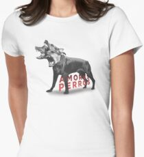 Amores Perros Women's Fitted T-Shirt