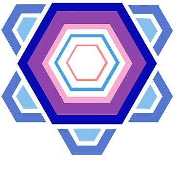 Purple Pentagon  by JoeyBell