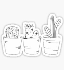 Pegatina vida vegetal
