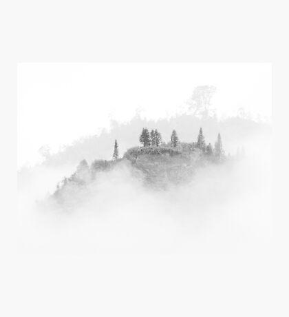 Misty Mountain Photographic Print