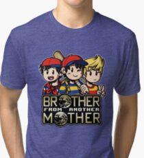Another MOTHER Trio -alt- (Ness, Ninten & Lucas) Tri-blend T-Shirt