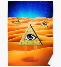 Desert Illuminati Poster