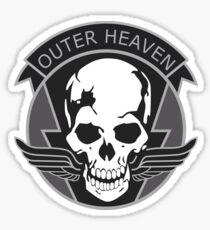 MGS - Outer Heaven Logo Sticker