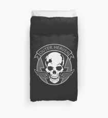 MGS - Outer Heaven Logo Duvet Cover