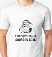Locally Sourced Coal Unisex T-Shirt